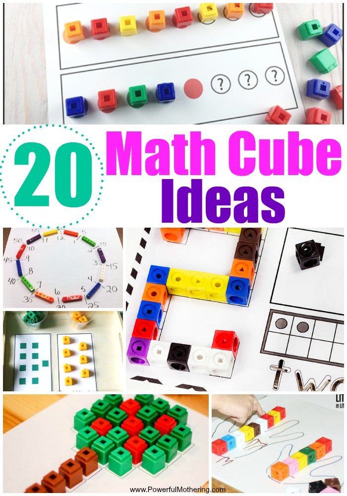 graphic regarding Centimeter Cubes Printable titled 20 Strategies in direction of Employ Math Cubes