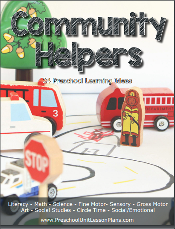 Community Helper Activity Example from Preschool Lesson Plans with Preshchool Themes