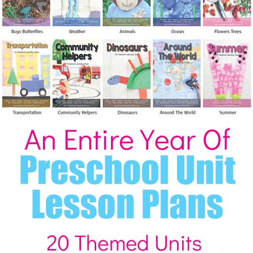 Preschool Themed Units Bundle. 20 Themed Units Each With 24 Hands On, Engaging Activities. Download an entire year worth of Preschool Lesson Plans and Preschool Themes for your classroom, homeschool or extra activities for your kids. Each theme includes hands on, engaging activities that are fun for kids and low prep for you.