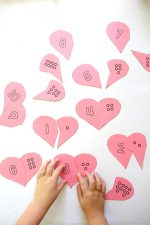 Heart Counting Cards