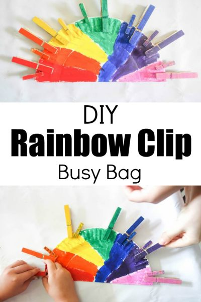 Diy Rainbow Busy Bag