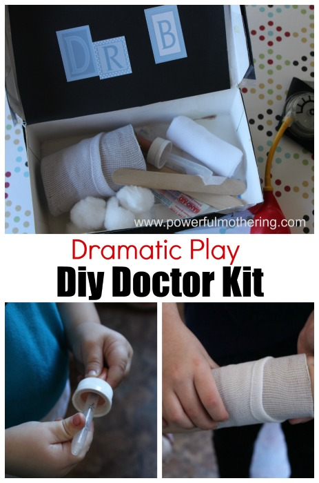 dramatic play diy doctor kit