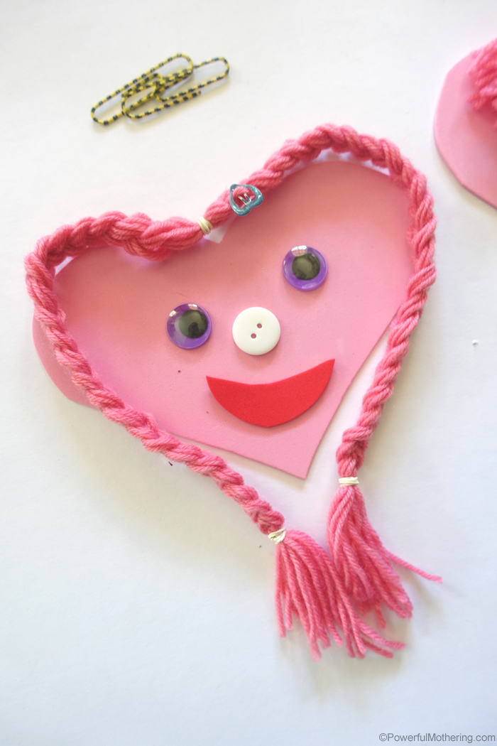Heart Fine Motor Busy Bag