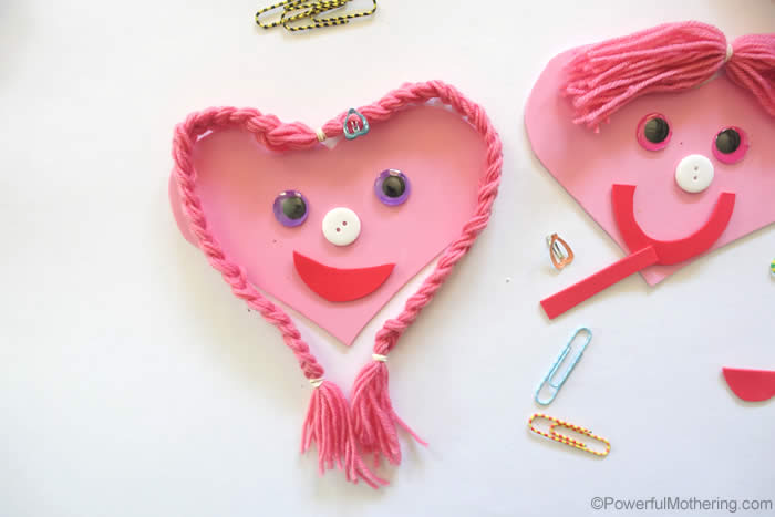 Hearts Busy Bag Idea