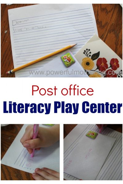 Post Office Invitation To Play Letter Writing Practice