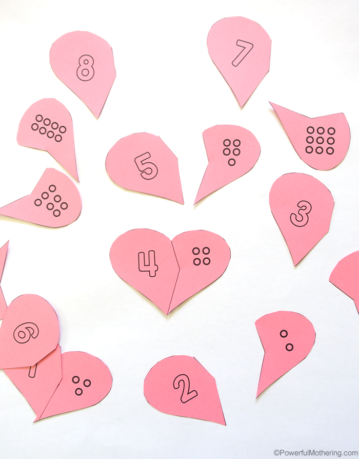 Printable Heart Cards