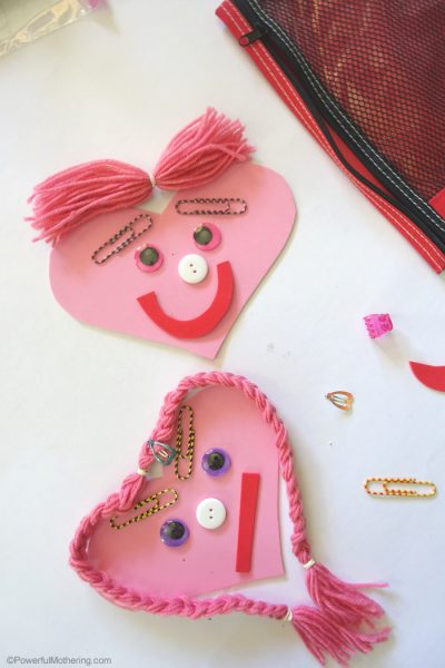 Heart Faces Busy Bag