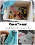 Careers Touch Feel and Guess Sensory Box