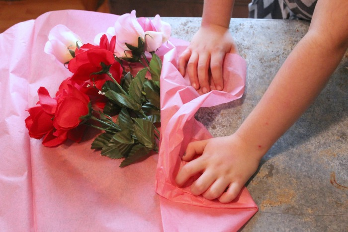 preschool flower shop dramatic play