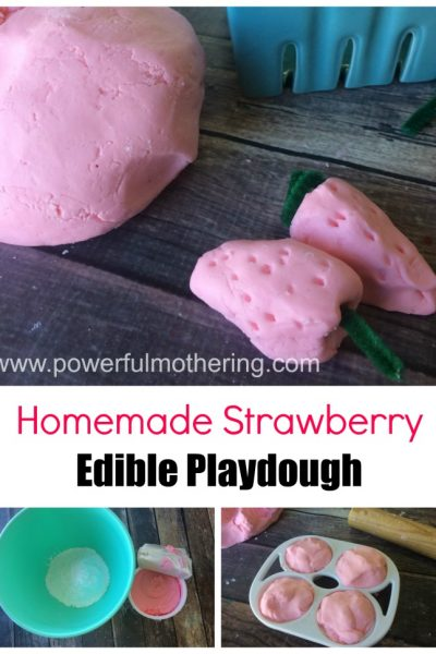 Amazing 2 Ingredient Homemade Edible Play Dough