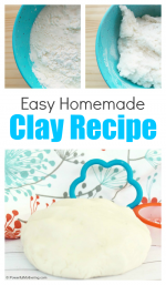 How to Make an Easy Homemade Clay Recipe