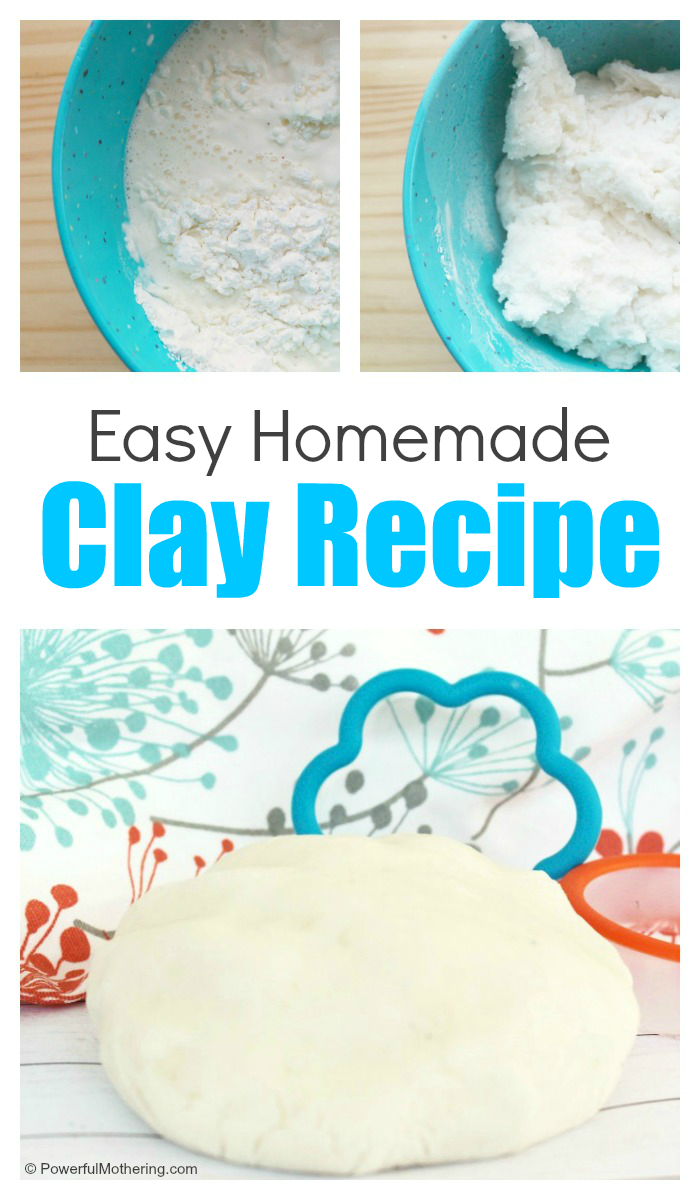 How To Make A Homemade Clay Recipe With Kids