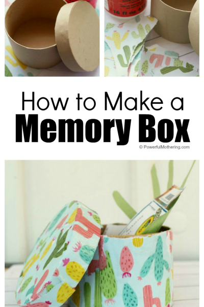 Make a Memory Box with These Easy-to-Follow Directions