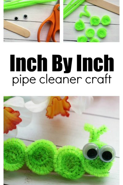 How to Make a Book-Inspired Pipe Cleaner Inchworm Craft