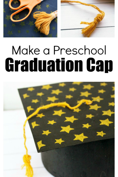 Directions for an Easy to Make Preschool Graduation Cap