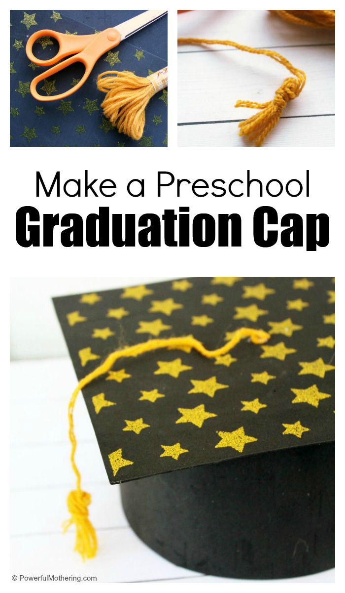 How To Make A Preschool Graduation Cap For Your Child
