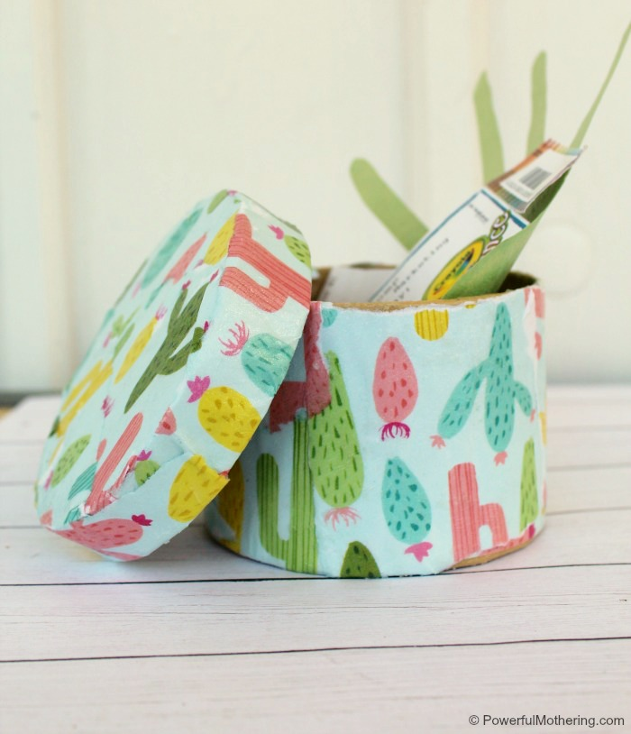 Make A Memory Box With Decoupage