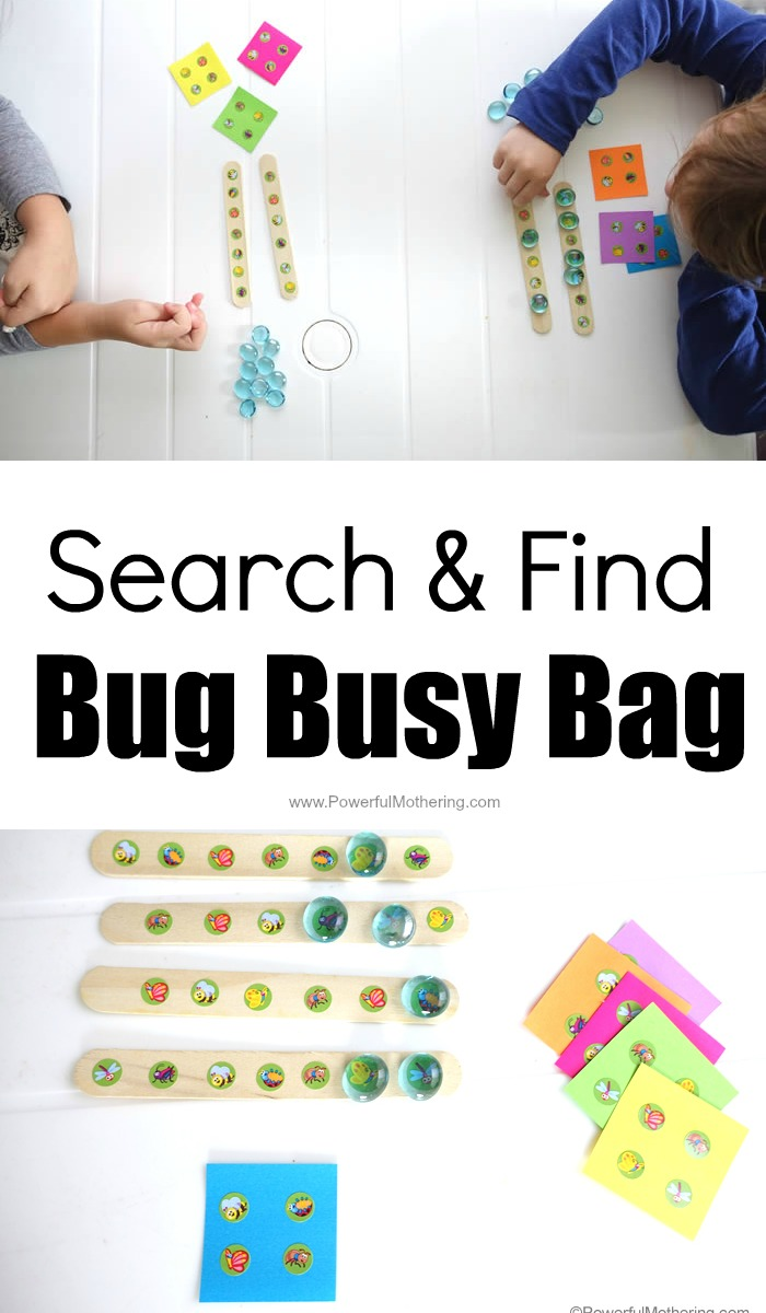 Search And Find Busy Busy Bag