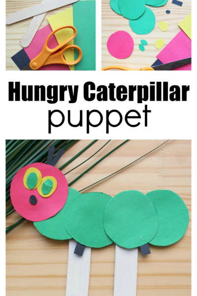 This Hungry Caterpillar Craft Puppet is So Fun to Make