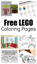 15 Awesome Free LEGO Coloring Pages for Kids