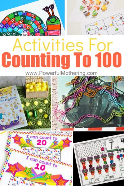 Help Kids have so much fun with these activities for Counting to 100. These are excellent for preschool & kindergarten.