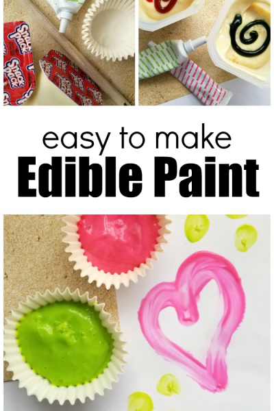 How To Make Edible Paint For Kids With Just A Few Ingredients