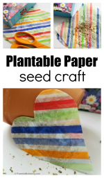 Plantable Paper Seed Craft
