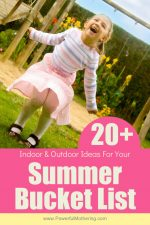 Ideas For A Summer Bucket List For Kids