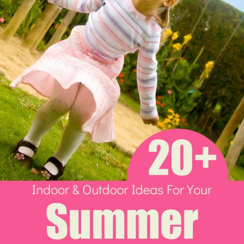 20+ Super Fun Summer Bucket List Ideas For Kids. Outdoor ideas for when it's sunny and warm as well as indoor ideas incase it rains or is too hot!