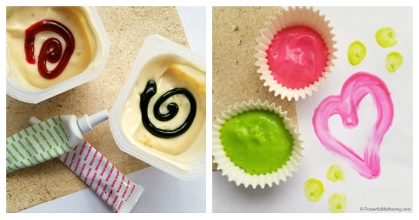 How To Make Edible Food Based Paint