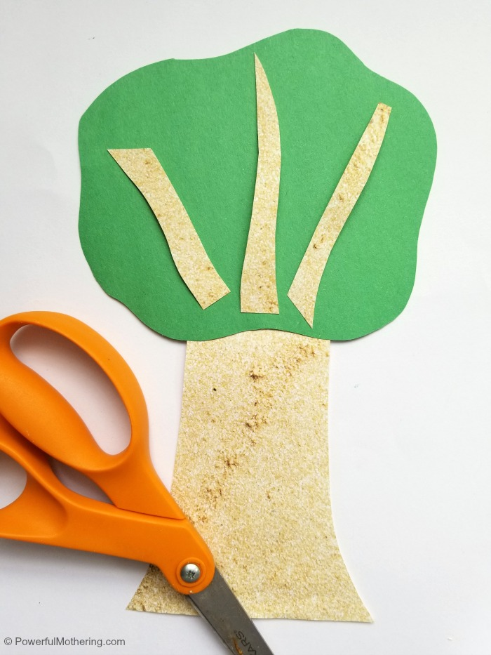 Tree Craft For Kids To Make With A Few Simple Materials