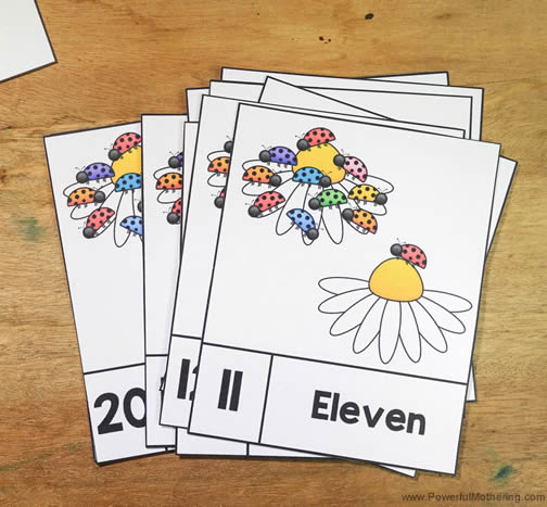 Printable Counting Cards