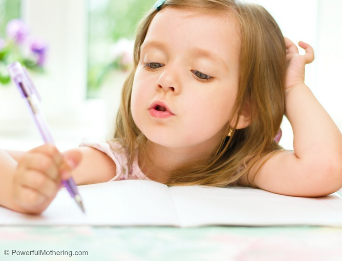 Tips for improving handwriting in kids