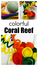 Pipe Cleaner Coral Reef Craft for Kids