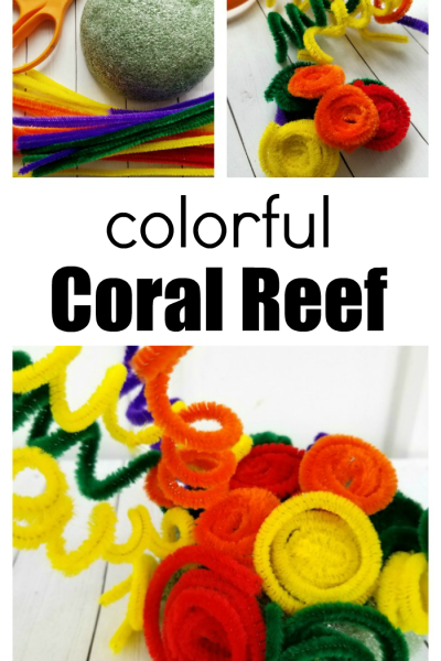 Make A Colorful Coral Reef Craft With The Kids