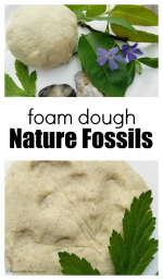 How to Make Foam Dough Fossils with Children