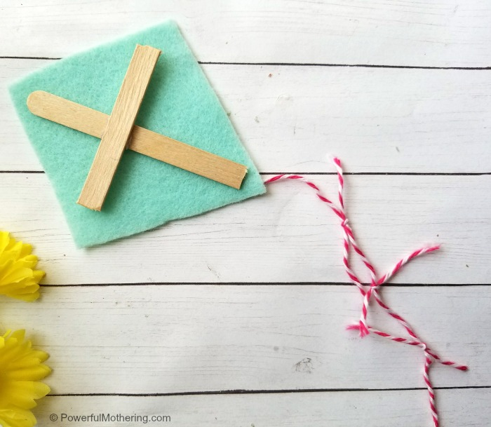 Popsicle Stick Craft Kite