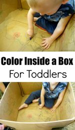Color Inside a Box For Toddlers