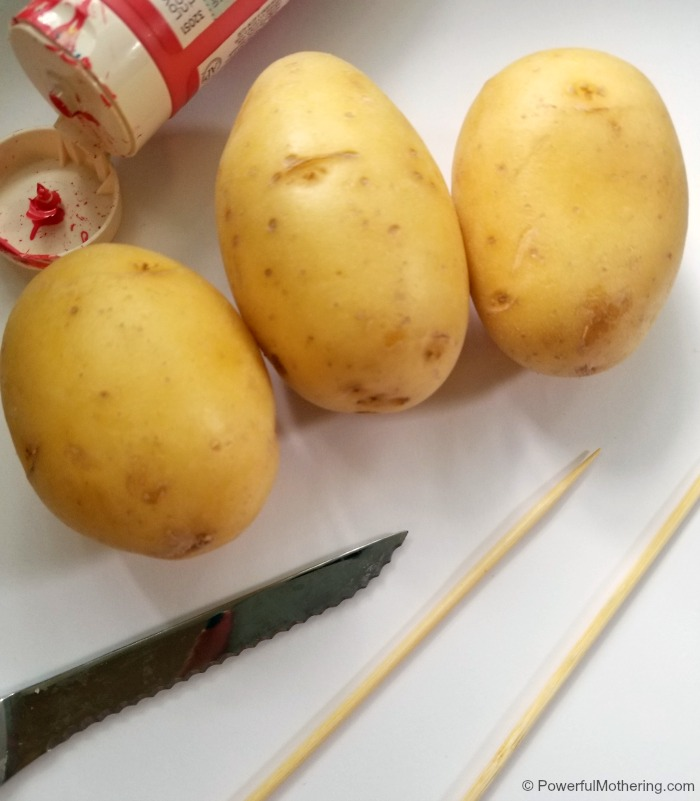 How To Make Your Own Stamp With A Potato