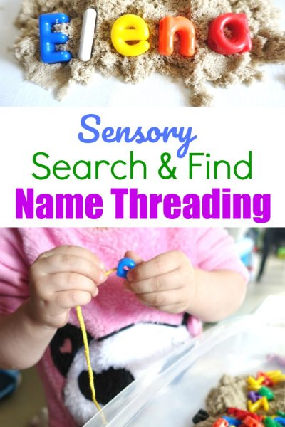 Sensory Search And Find Name Threading