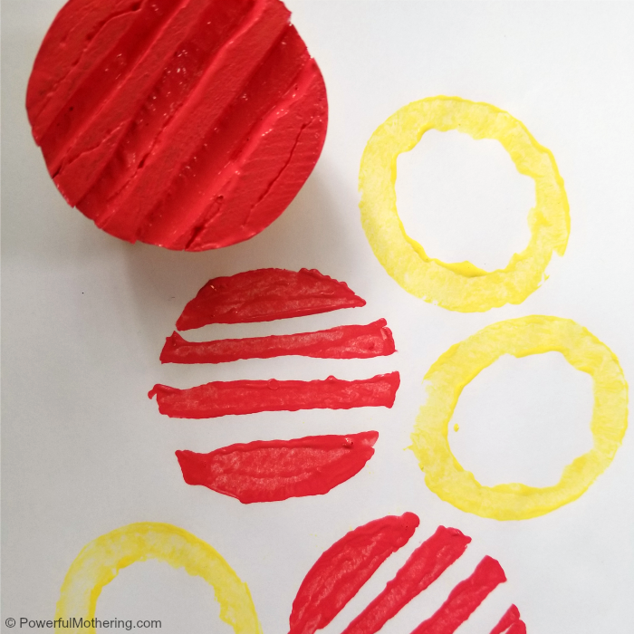 Use Potatoes To Make Your Own Stamp