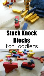 Stack and Knock Blocks For Toddlers