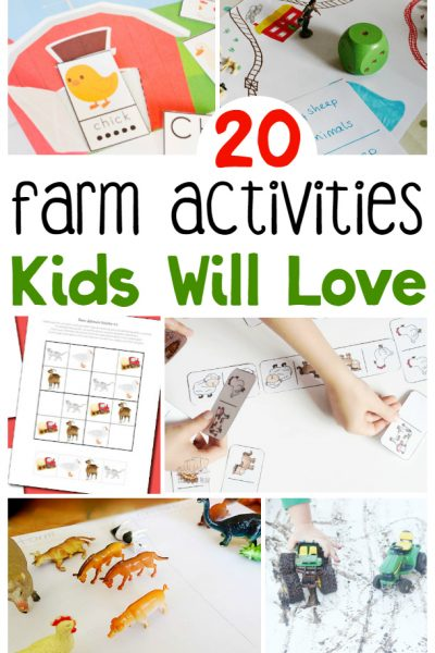 20 Farm Animal Activities For Kids