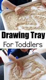 Drawing Tray For Toddlers