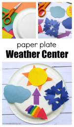 Weather Center Craft for Kids