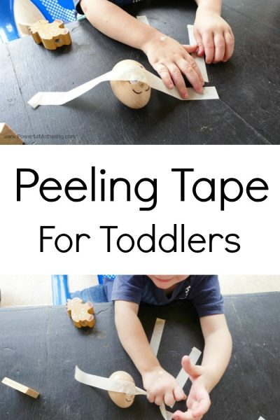 Peeling Tape For Toddlers