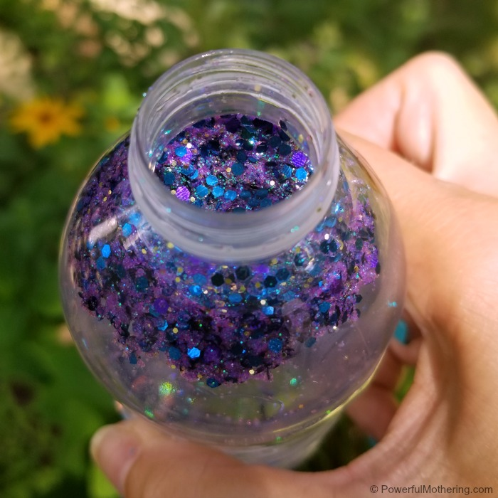 Glitter In A Mermaid Sensory Bottle