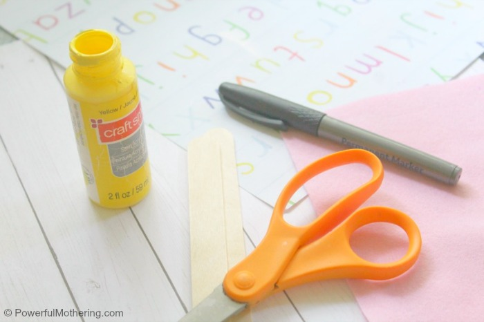 Back To School Craft Bookmark Supplies