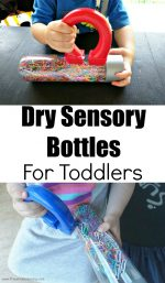 Dry Sensory Bottles For Toddlers