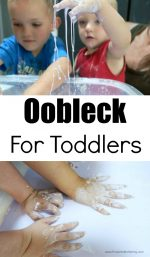 Oobleck For Toddlers